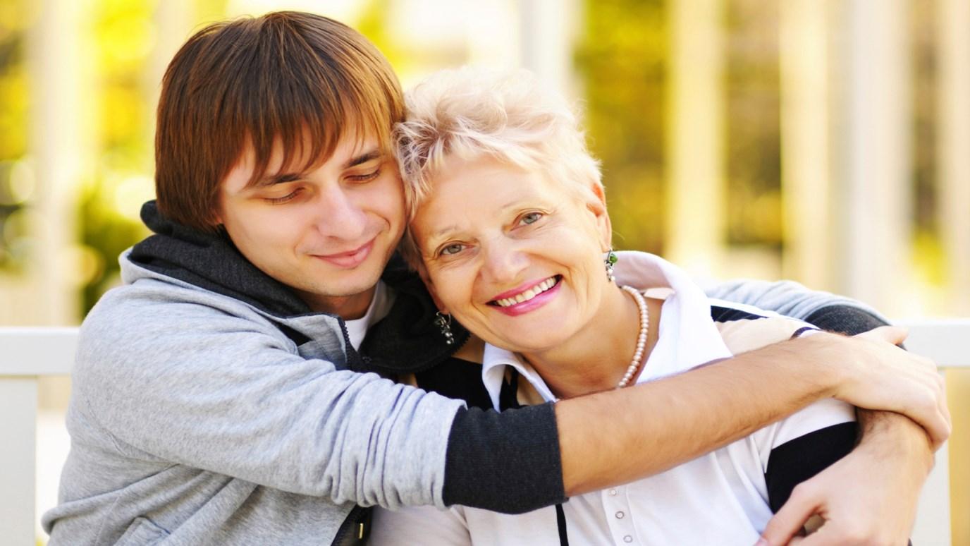 Знакомство пара сын и мать