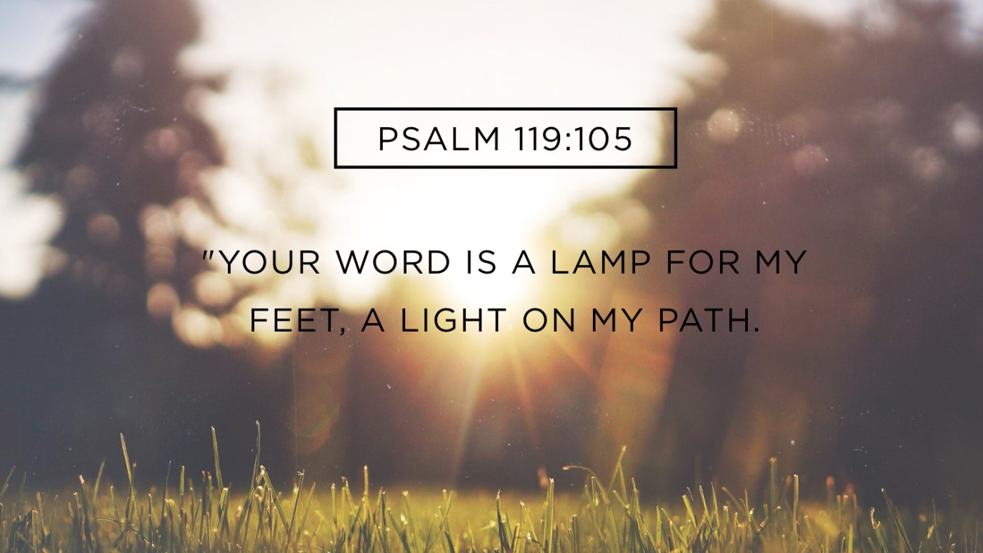 Verse of the Day - Psalm 119:105 - iDisciple